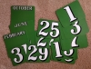 Perpetual Calendar Replacement Cards - Green Steam