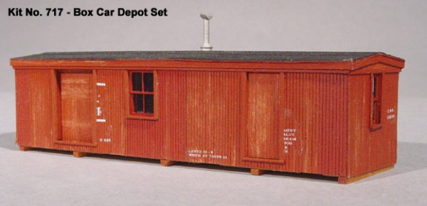 American Model Builders Box Car Depot Set