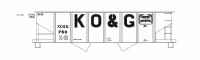 Mask Island Decal Set 87-344 KO&G Open Top Hopper