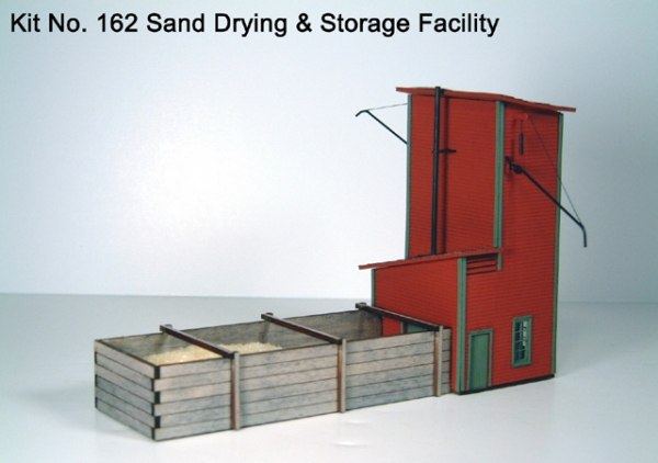 American Model Builders Sand Drying Facility