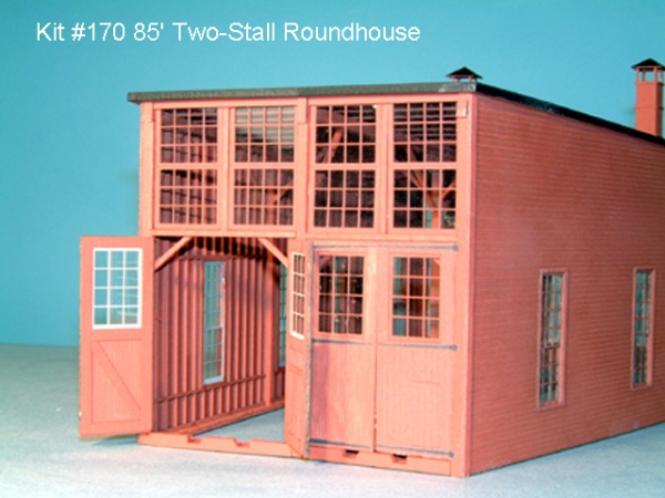 American Model Builders Two-Stall Roundhouse