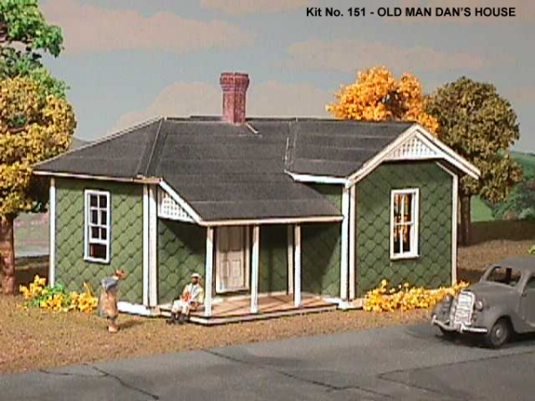 American Model Builders MP Agent's House