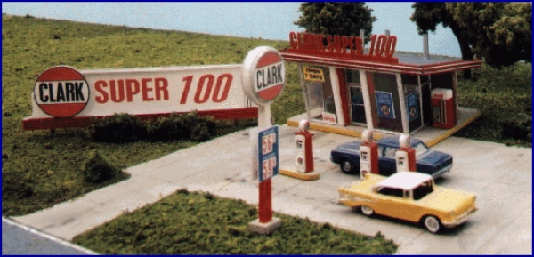 Blair Line - Clark Oil Gas Station