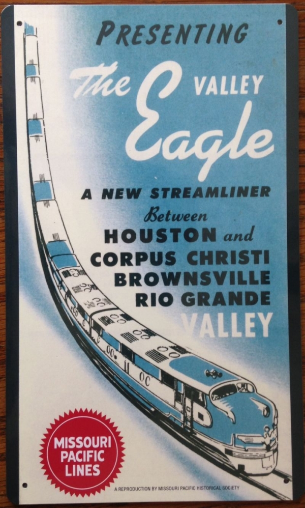 Metal Sign - Valley Eagle